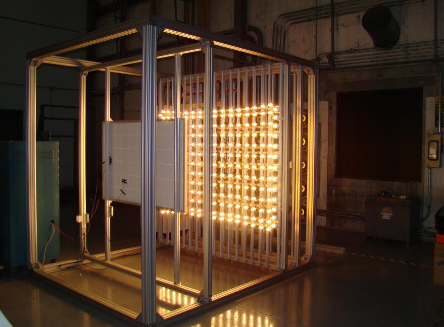 The Solar Company >> Sun Simulator : SUSI | Solar Irradiance Sensor – Reference Cell – Solar Measurement Equipment ...