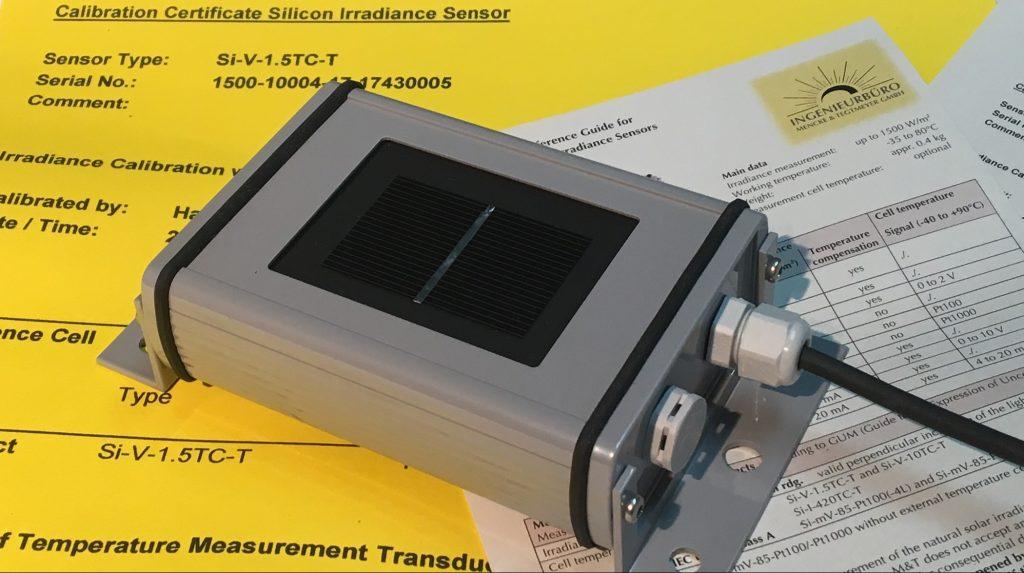 Silicon Irradiance Sensor Solar Irradiance Sensor